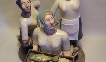 "Summer Exhibition  ""The Herring Girls""    Katie Scarlett Howard"
