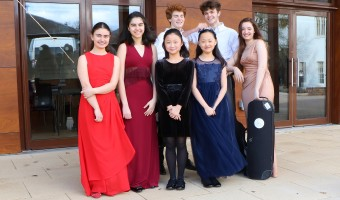 Coffee Concert with Pupils from the Yehudi Menuhin School